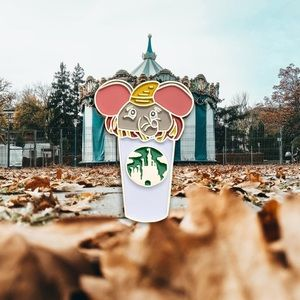 Accessories - Dumbo Castle Cup Enamel Pin